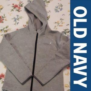2/$15 Size 10-12 HOST PICK  Grey  zip-up hoodie